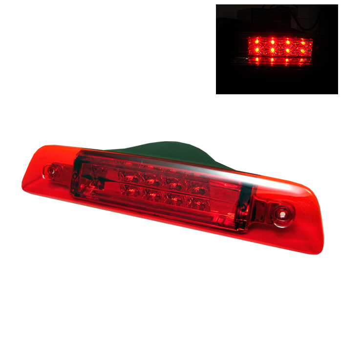 Toyota 4 Runner 1996-2002 Red Housing Led 3rd Brake Light
