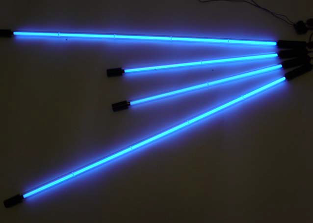 Neon Blue 4 Piece Undercar Kit (Neon Car Lights)