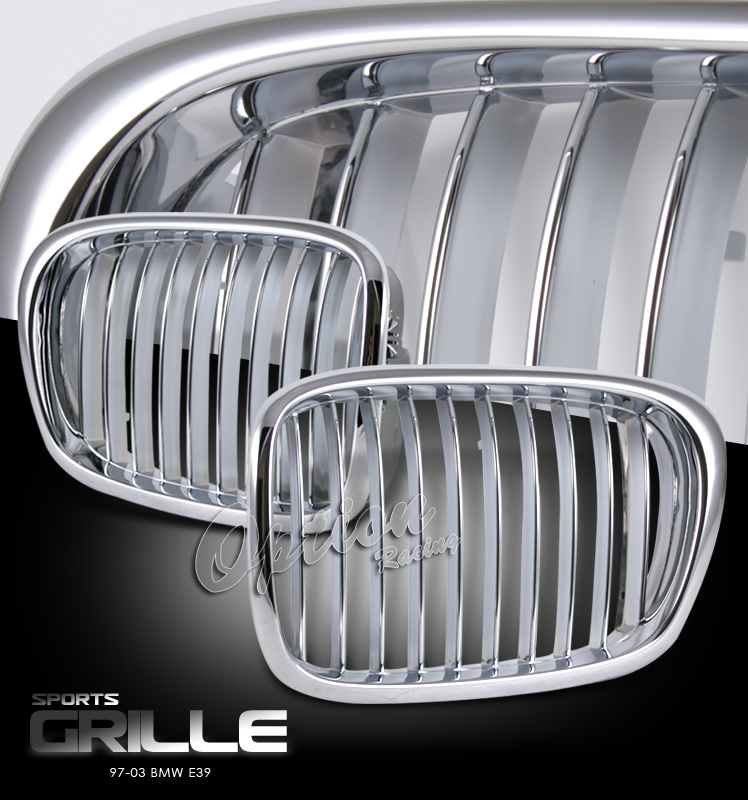Bmw 5 Series 1997-2003   Chrome Front Grill