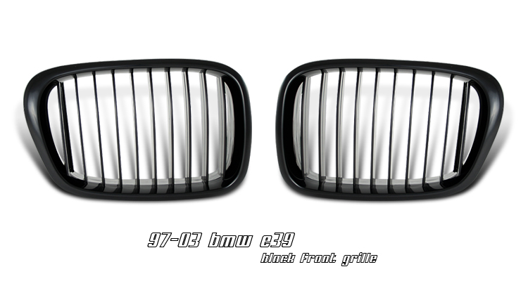 Bmw 5 Series 1997-2003  Black Front Grill