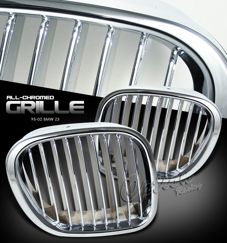 Bmw Z3 1996-2002   Chrome Front Grill
