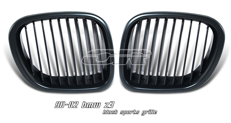 Bmw Z3 1996-2002  Black Front Grill