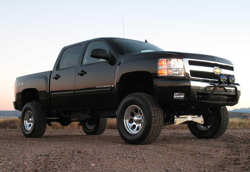 6 Inch Lift Kit For Chevy 1500 4wd >> Chevrolet Silverado Gmc Sierra 1500 2007 4wd 6 Inch Lift