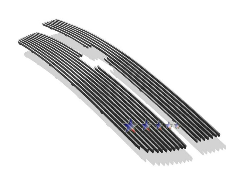 Chevrolet Silverado 3500 2005-2006 Polished Main Upper Aluminum Billet Grille