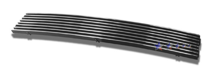 Chevrolet Trailblazer SS 2002-2005 Polished Lower Bumper Aluminum Billet Grille