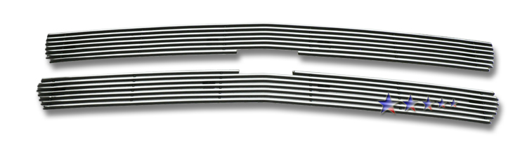 Chevrolet Silverado 1500/1500hd/2500/2500hd/3500 1999-2002 Polished Main Upper Aluminum Billet Grille