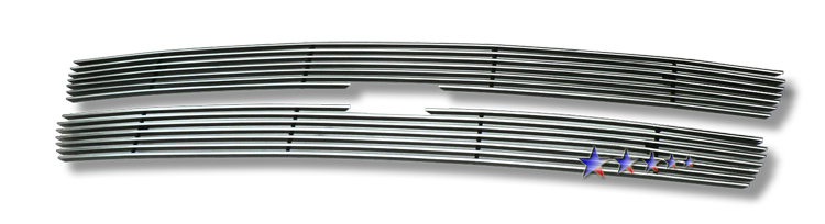 Chevrolet Suburban  2000-2006 Polished Main Upper Stainless Steel Billet Grille