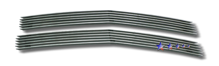 Chevrolet Full Size Pickup  1994-1999 Polished Main Upper Stainless Steel Billet Grille