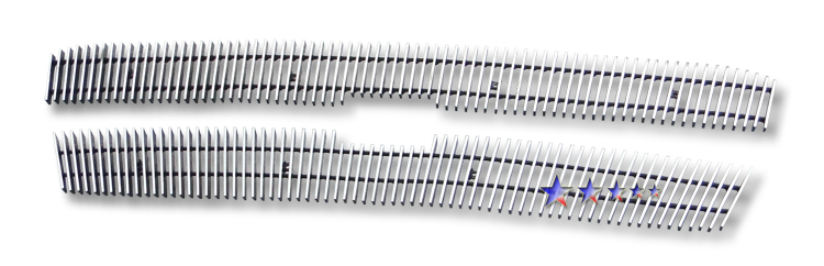 Chevrolet Silverado 1500 Hd 2005-2005 Polished Main Upper Aluminum Billet Grille