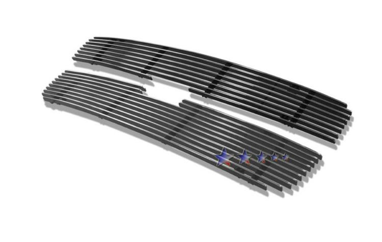 Chevrolet Uplander  2005-2008 Polished Main Upper Aluminum Billet Grille