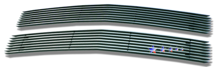 Chevrolet Full Size Pickup  1994-1999 Polished Main Upper Aluminum Billet Grille