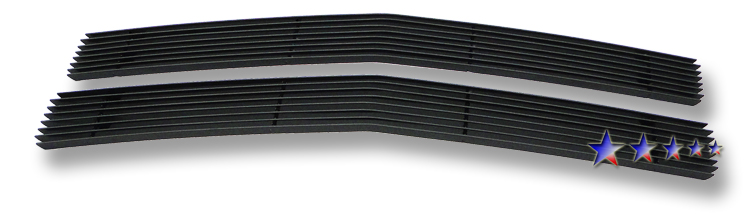 Chevrolet Blazer  1994-1999 Black Powder Coated Main Upper Black Aluminum Billet Grille