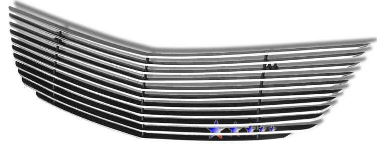 Chevrolet Impala  2000-2005 Polished Main Upper Aluminum Billet Grille
