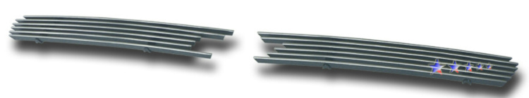 Chevrolet Impala  2006-2012 Polished Main Upper Aluminum Billet Grille