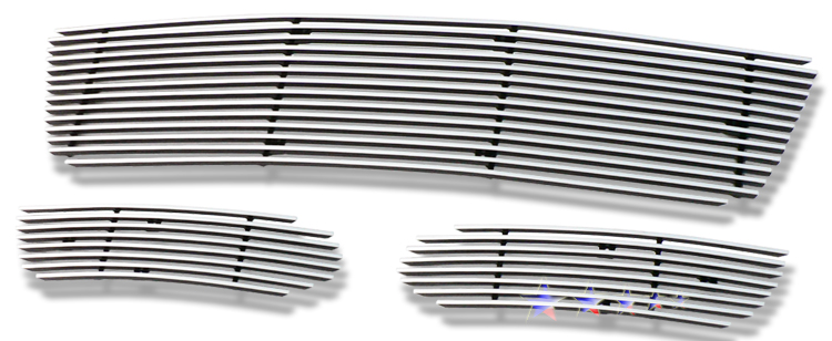 Chevrolet Impala  2006-2012 Polished Lower Bumper Stainless Steel Billet Grille
