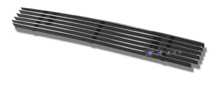 Chevrolet Colorado  2004-2012 Polished Lower Bumper Aluminum Billet Grille