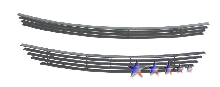 Chevrolet Cobalt  2005-2010 Black Powder Coated Main Upper Black Aluminum Billet Grille