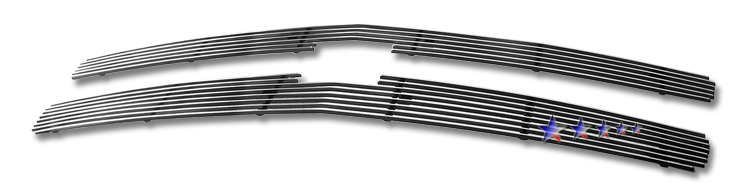 Chevrolet Silverado 1500 2007-2013 Polished Main Upper Aluminum Billet Grille