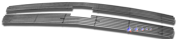 Chevrolet Silverado 1500 2007-2012 Polished Main Upper Stainless Steel Billet Grille