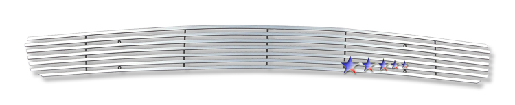 Chevrolet Silverado 07-10 Polished Stainless Steel Lower Front Grill