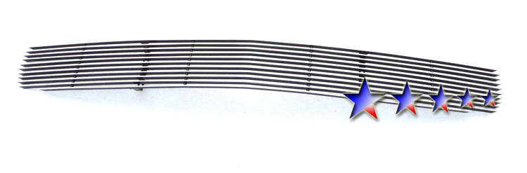 Chevrolet Corvette Z06 2006-2010 Polished Lower Bumper Aluminum Billet Grille