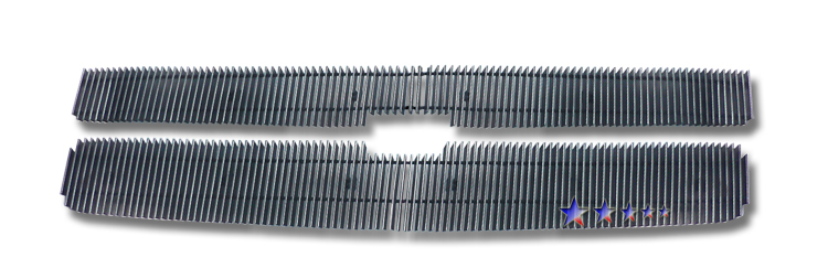 Chevrolet Silverado 3500 Hd 2007-2010 Polished Main Upper Aluminum Billet Grille