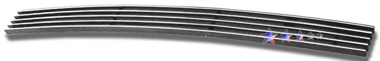 Chevrolet Silverado 3500 Hd 2007-2010 Polished Top Bumper Aluminum Billet Grille