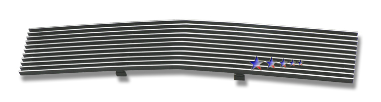 Chevrolet Silverado 1500 2007-2012 Polished Lower Bumper Aluminum Billet Grille