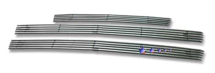 Chevrolet SSr  2003-2006 Polished Main Upper + Lower Bumper Aluminum Billet Grille