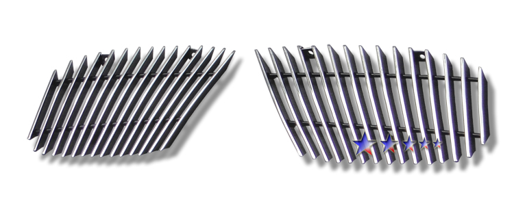 Chevrolet Tahoe  2007-2012 Polished Lower Bumper Aluminum Billet Grille