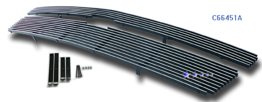 Chevrolet Tahoe  2007-2012 Polished Main Upper Aluminum Billet Grille
