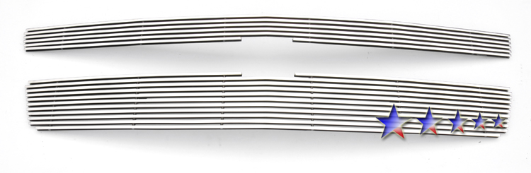 Chevrolet Suburban  2007-2012 Polished Main Upper Aluminum Billet Grille