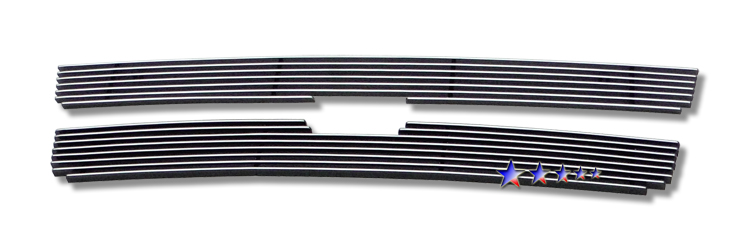 Chevrolet Trailblazer Lt 2006-2009 Polished Main Upper Aluminum Billet Grille