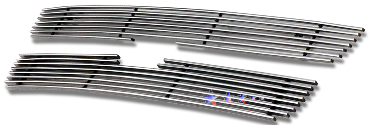 Chevrolet Trailblazer Lt 2006-2009 Polished Main Upper Stainless Steel Billet Grille