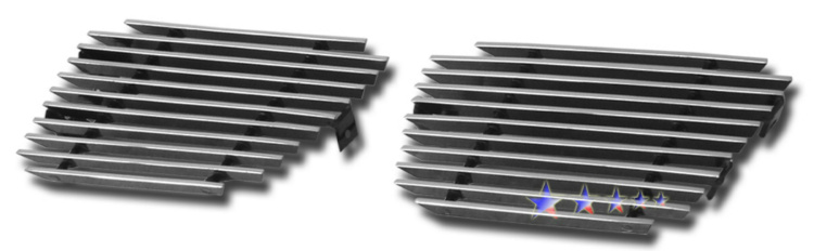 Chevrolet Avalanche  2007-2012 Polished Tow Hook Aluminum Billet Grille