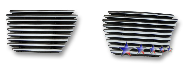 Chevrolet Suburban  2007-2012 Polished Lower Bumper Aluminum Billet Grille