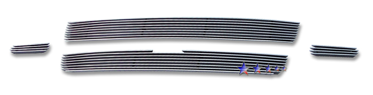 Chevrolet Trailblazer SS 2006-2009 Polished Main Upper Aluminum Billet Grille