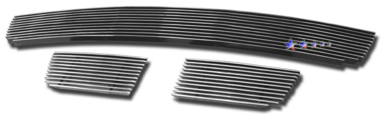 Chevrolet Trailblazer SS 2006-2009 Polished Lower Bumper Aluminum Billet Grille