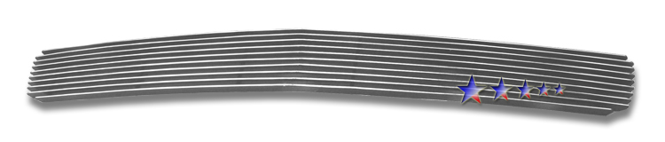Chevrolet Silverado 3500 Hd 2007-2010 Polished Lower Bumper Aluminum Billet Grille