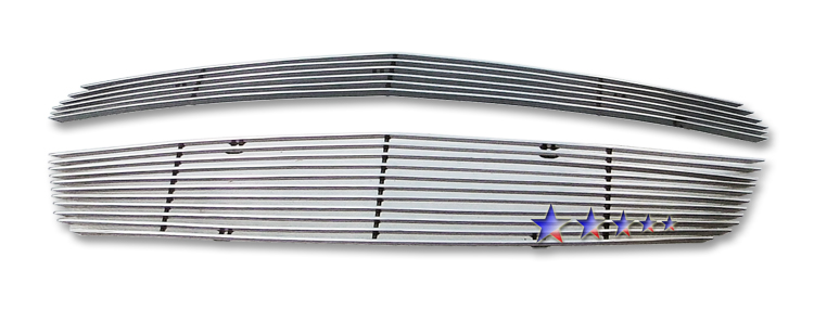 Chevrolet Equinox  2010-2012 Polished Main Upper Aluminum Billet Grille