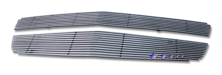 Chevrolet Traverse  2009-2012 Polished Main Upper Aluminum Billet Grille