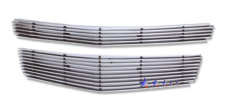 Chevrolet Malibu  2008-2012 Polished Main Upper Aluminum Billet Grille