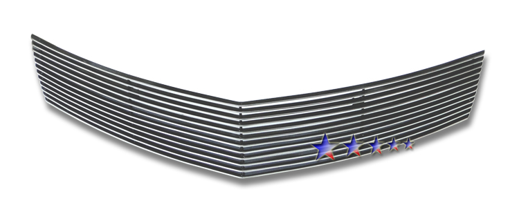 Chevrolet Malibu  2008-2012 Polished Lower Bumper Aluminum Billet Grille