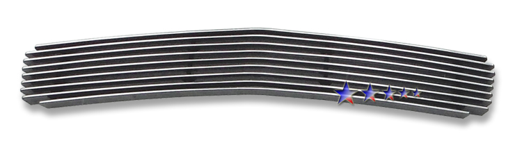 Chevrolet Malibu  2008-2012 Black Powder Coated Lower Bumper Black Aluminum Billet Grille