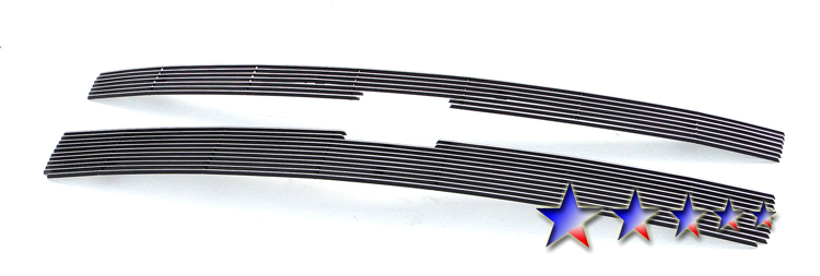 Chevrolet Silverado 3500 Hd 2011-2012 Polished Main Upper Aluminum Billet Grille