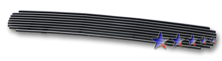 Chevrolet Silverado 3500 Hd 2011-2012 Polished Lower Bumper Aluminum Billet Grille