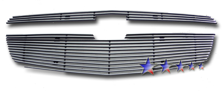 Chevrolet Cruze  2011-2012 Polished Main Upper Aluminum Billet Grille