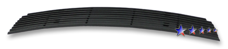 Chevrolet Cruze Ltz 2011-2012 Black Powder Coated Lower Bumper Black Aluminum Billet Grille