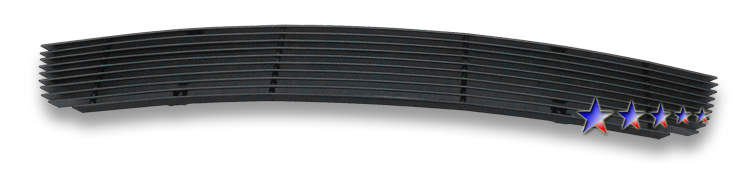 Chevrolet Cruze  2011-2012 Black Powder Coated Lower Bumper Black Aluminum Billet Grille