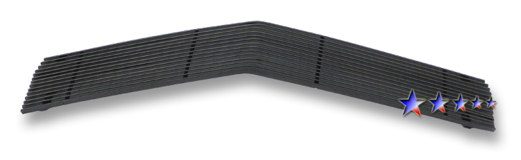 Chevrolet Camaro  1978-1981 Black Powder Coated Main Upper Black Aluminum Billet Grille